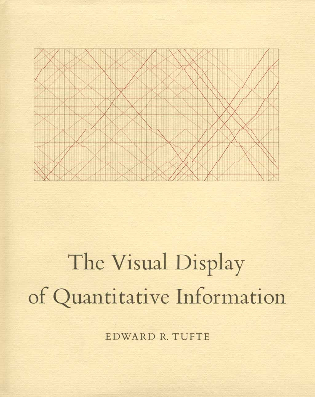 an image of the cover of The Visual Display of Quantitative Information by Edward Tufte