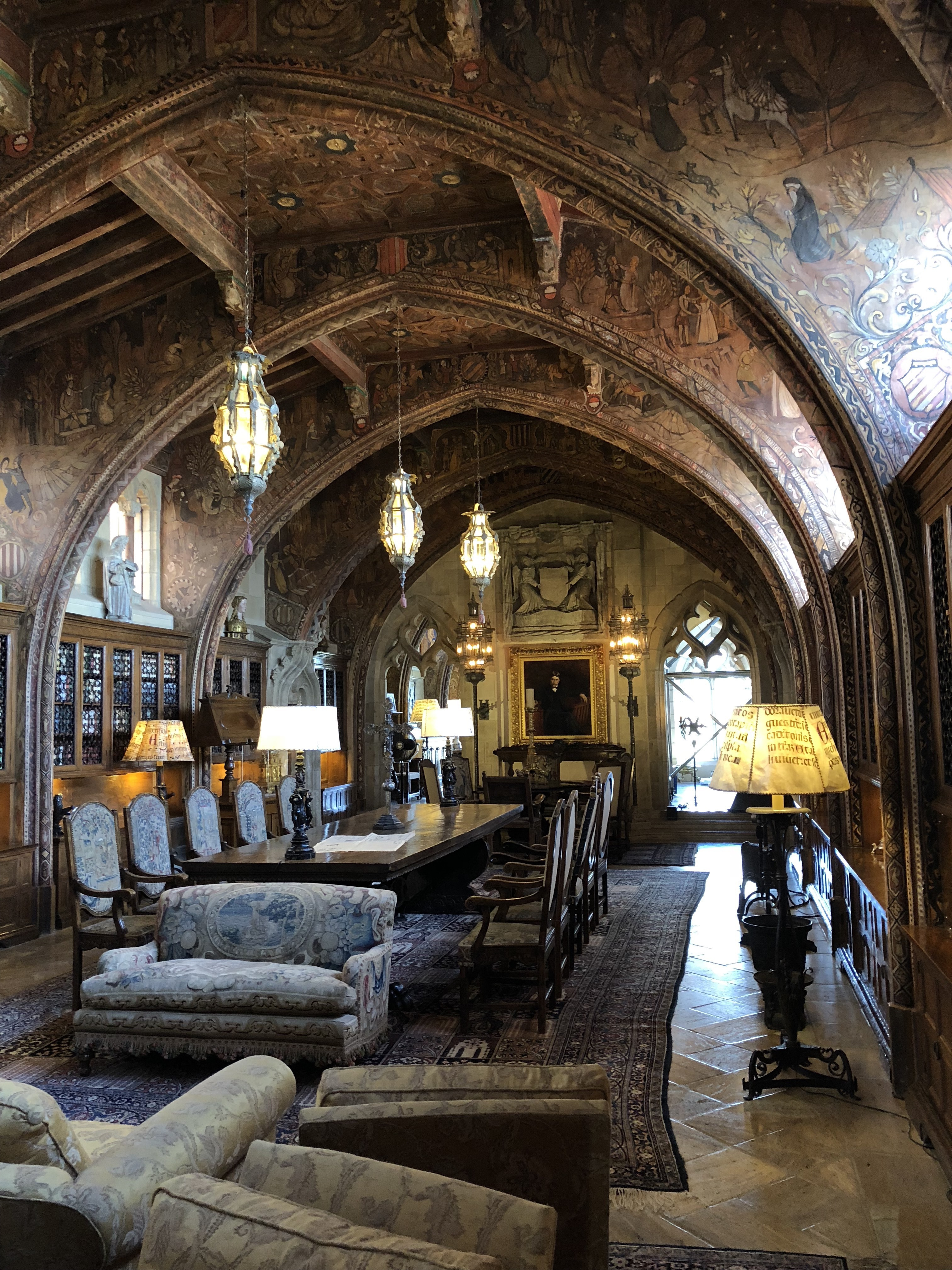William Randolph Hearst's study