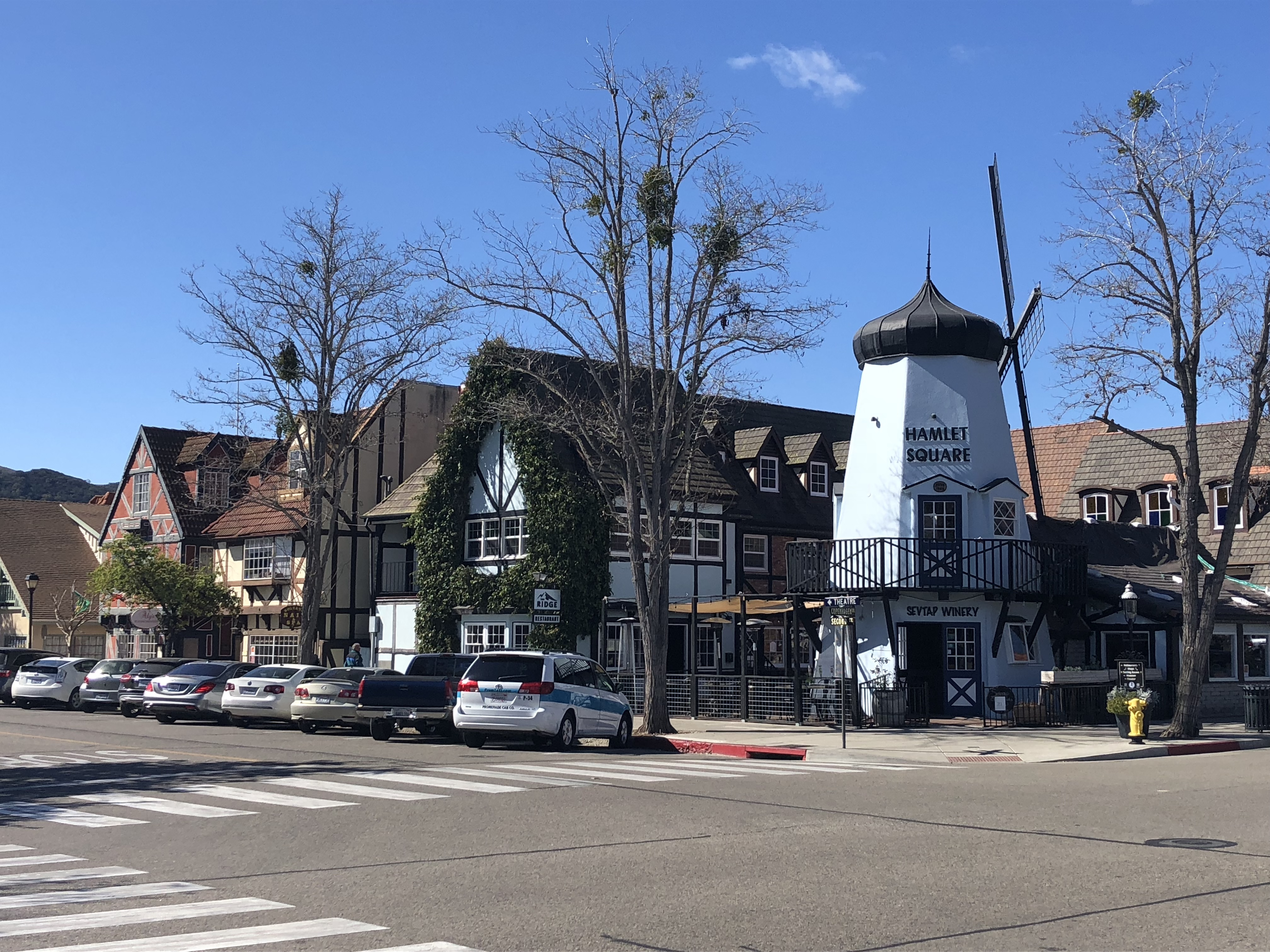 Buildings in Solvang