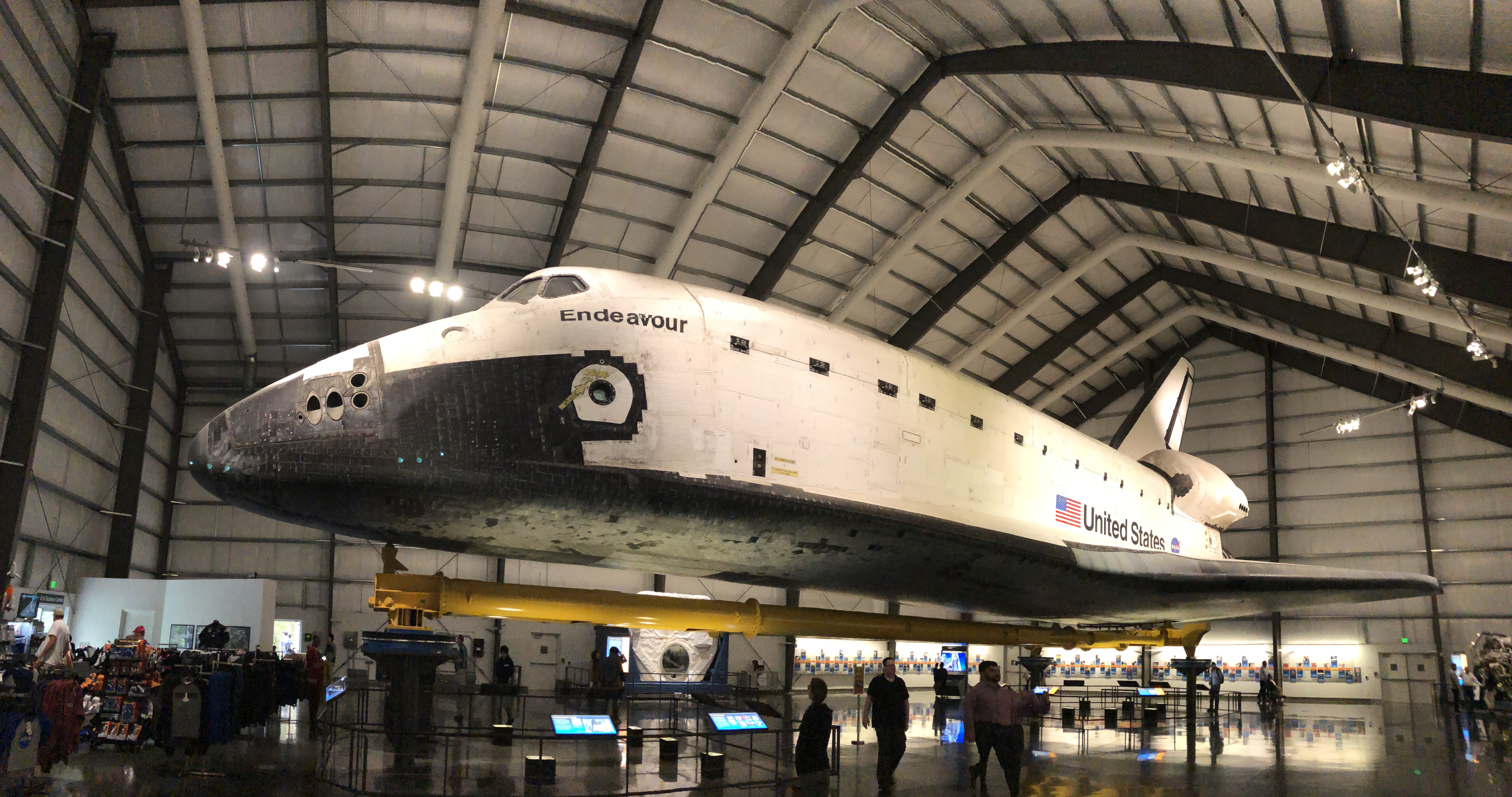 The Space Shuttle Endeavor!